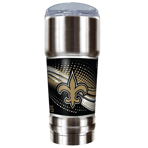 New Orleans Saints 32-Ounce Pro Stainless Steel Tumbler