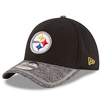 Youth New Era Pittsburgh Steelers 39THIRTY Training Camp Fitted Cap