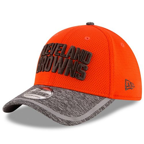 Youth New Era Cleveland Browns 39THIRTY Training Camp Fitted Cap