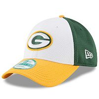 Adult New Era Green Bay Packers 9FORTY Block Adjustable Cap