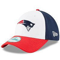 Adult New Era New England Patriots 9FORTY Block Adjustable Cap
