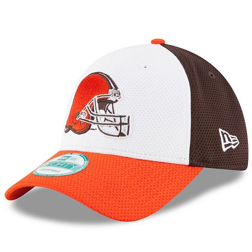 Adult New Era Cleveland Browns 9FORTY Block Adjustable Cap