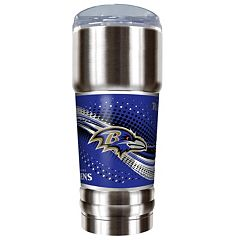 Baltimore Ravens 32-Ounce Pro Stainless Steel Tumbler