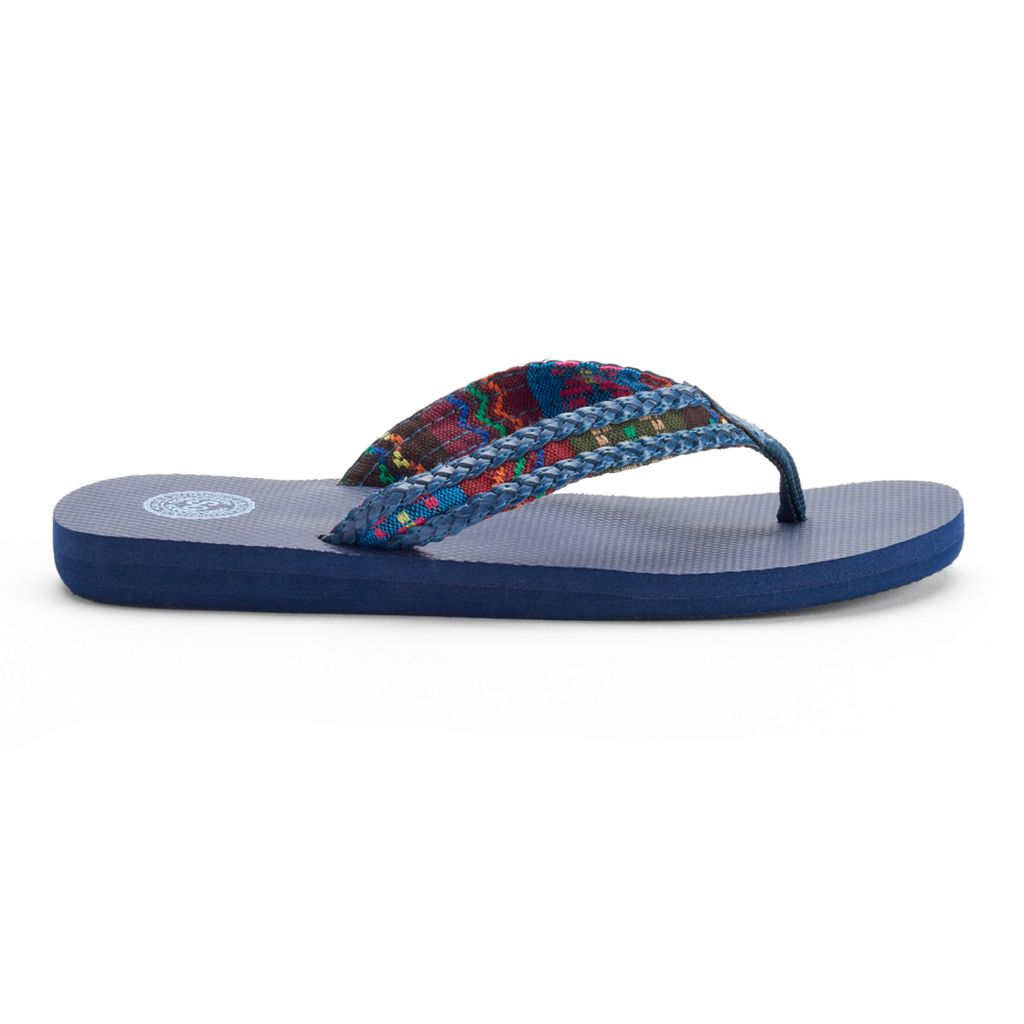 SO® Women's Braided Flip-Flops