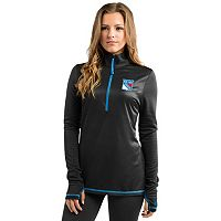 Women's Majestic New York Rangers Back Check Pullover