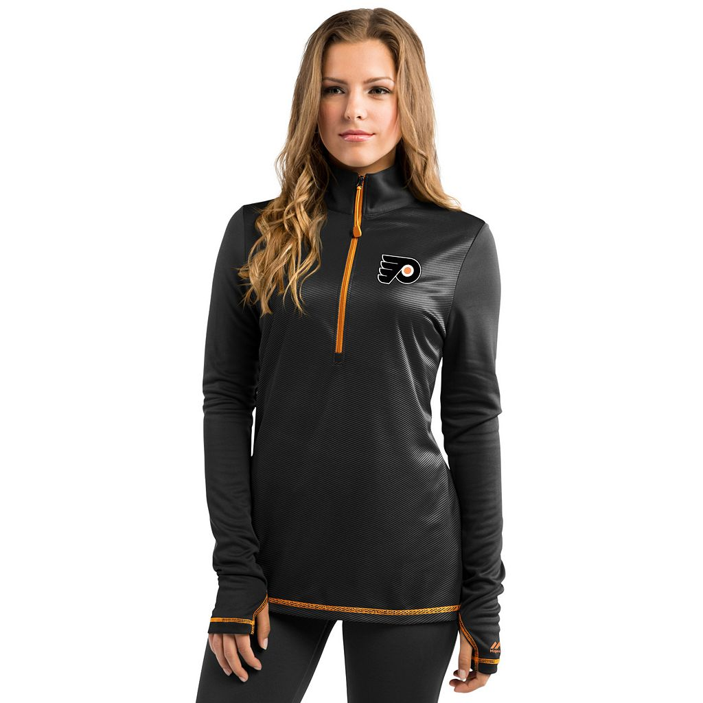 Women's Majestic Philadelphia Flyers Back Check Pullover