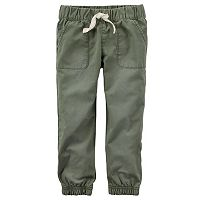 Baby Girl Carter's Olive Jogger Pants