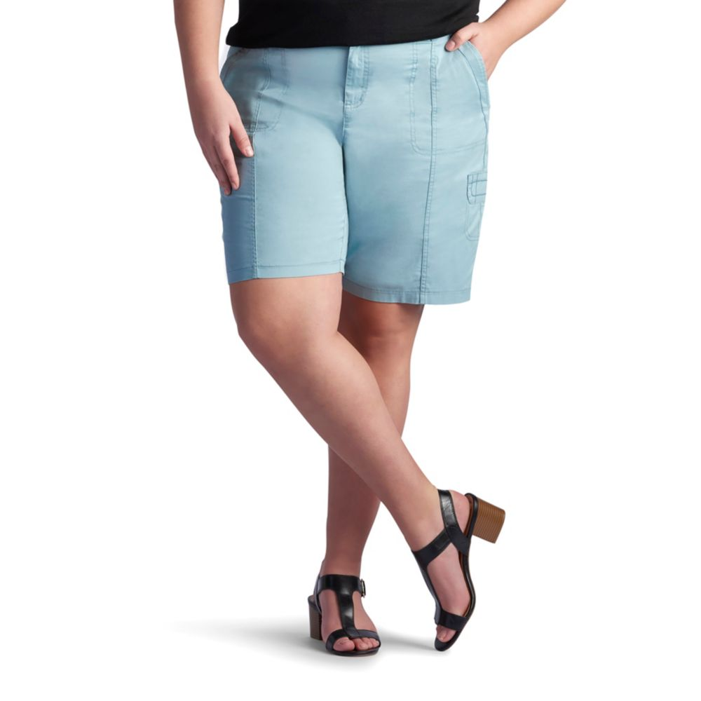 size lee delaney relaxed fit bermuda shorts