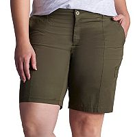 Plus Size Lee Delaney Relaxed Fit Bermuda Shorts
