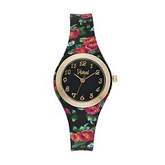 Vivani Women's Floral Watch