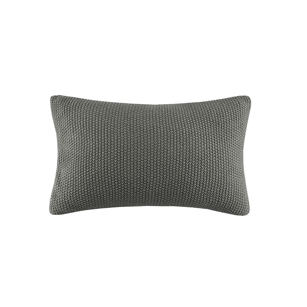 INK+IVY Bree Knit Oblong Throw Pillow Cover