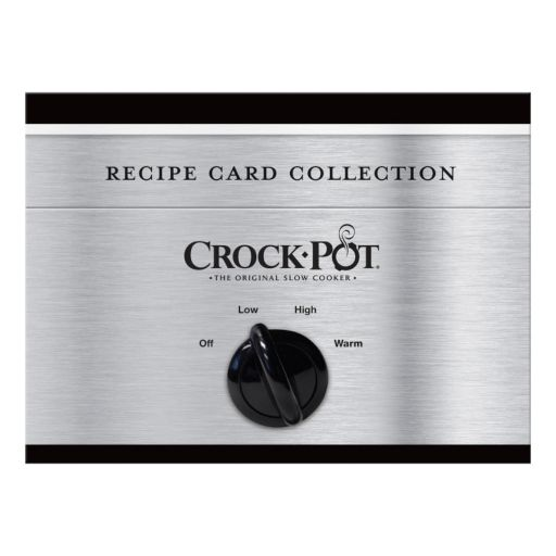Publications International, Ltd.  Crock-Pot Recipe Card Collection Tin