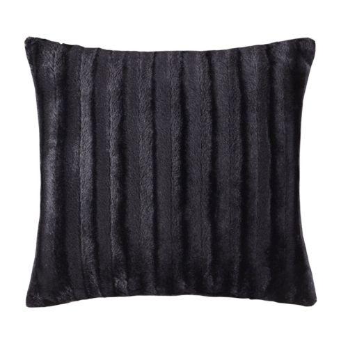 Madison Park York Faux Fur Throw Pillow