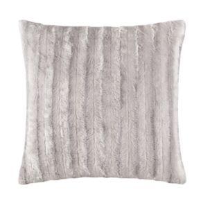 Madison Park Duke Faux Fur Throw Pillow