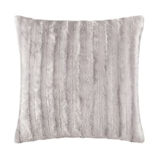 Madison Park Duke Faux Fur Throw Pillow