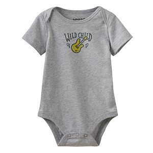 Baby Boy Jumping Beans® Embroidered Guitar Bodysuit