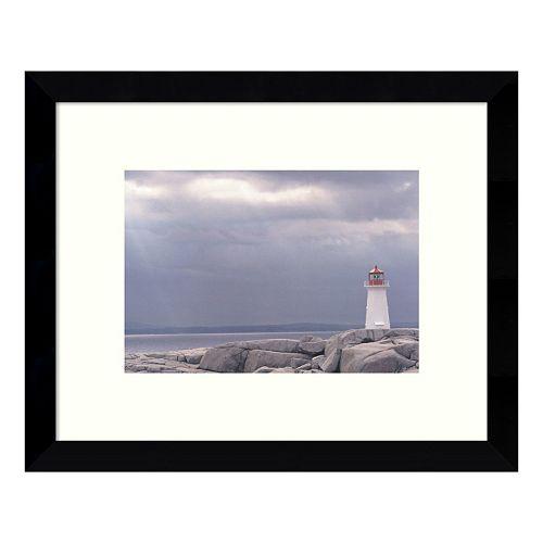 Lighthouse Nova Scotia Framed Wall Art