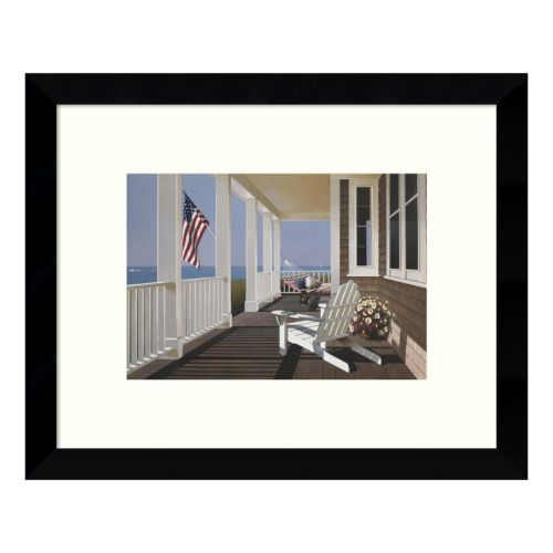 Sunrise Porch Framed Wall Art