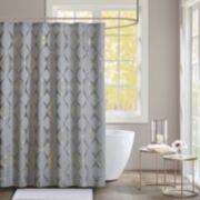 Madison Park Sierra Jacquard Shower Curtain