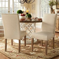 HomeVance Grace Hill Parson Dining Chair 2-piece Set