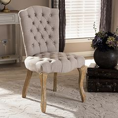 Baxton Studio Clemence Dining Side Chair
