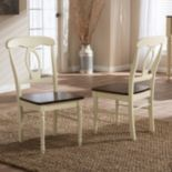 Baxton Studio Napoleon Country Cottage Dining Chair 2-piece Set