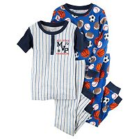 Toddler Boy Carter's Sporty Tee & Pants Pajama Set