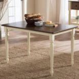 Baxton Studio Napoleon Country Cottage Dining Table