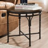 Baxton Studio Austin Industrial End Table