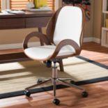Baxton Studio Watson Faux Leather Office Chair