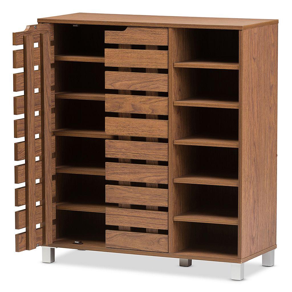 Baxton Studio Shirley Shoe Cabinet