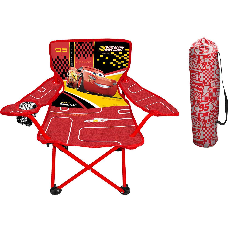 Superb Disney / Pixar Cars 3 Lightning McQueen Fold Nu0027 Go Chair