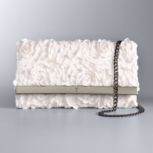 Simply Vera Vera Wang Floral Flap Clutch