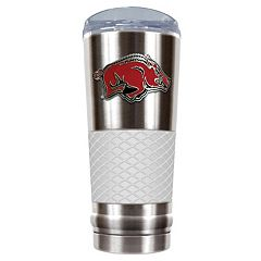 Arkansas Razorbacks 24-Ounce Draft Stainless Steel Tumbler