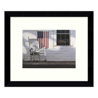 Dawn Porch Framed Wall Art