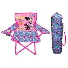 Disney's Minnie Mouse Fold N' Go Chair by