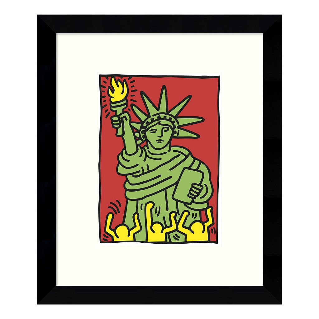 Statue of Liberty 1986 Framed Wall Art
