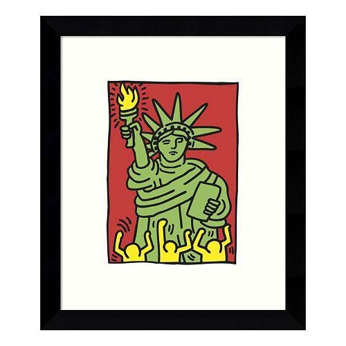 Statue of Liberty 1986 Framed Wall Art