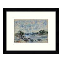 Landscape at Pont Aven Framed Wall Art