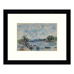 Landscape at Pont Aven Framed Wall Art