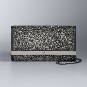 Simply Vera Vera Wang Shine Two Tone Rhinestone Clutch