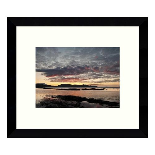 Broadford Sunset I Framed Wall Art