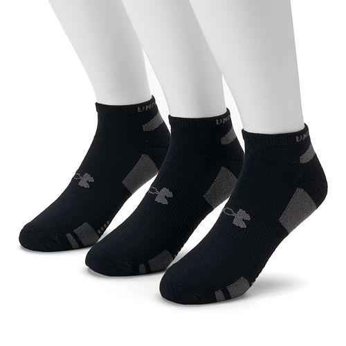 cd2ce54b0 Men's Under Armour 3-pack Heatgear Performance Training No-Show Socks