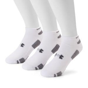 Men's Under Armour 3-pack Heatgear Performance Training No-Show Socks