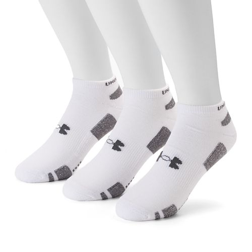 Men's Under Armour 3-pack Heatgear Performance Training No-Show Socks