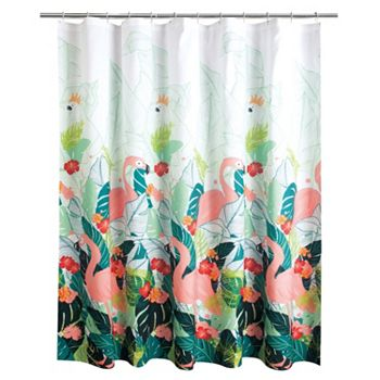 Celebrate Summer Together Tropical Shower Curtain Collection | null