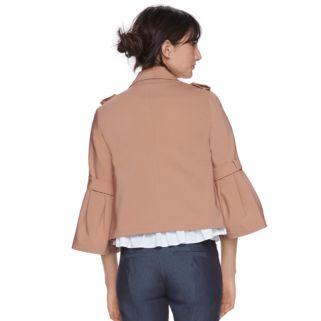 Women's ELLE™ Crop Flare Sleeve Jacket