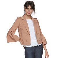 Women's ELLE™ Crop Flare Sleeve Jacket