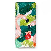 Tropical Printed Hand Towel