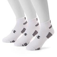 Men's Under Armour 3-pack Heatgear Performance Training Low-Cut Socks